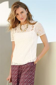 Lace Layer Top