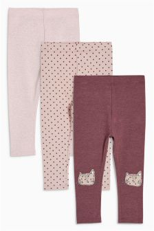 Leggings Three Pack (3mths-6yrs)