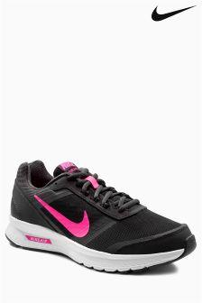 Black/Pink Nike Run Air Relentless