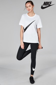 Nike Club Black Logo Legging
