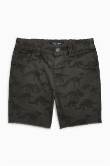 Dinosaur Print Shorts (3mths-6yrs)
