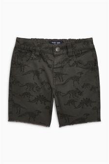 Dinosaur Print Shorts (3mths-6yrs)