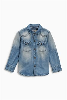 Denim Shirt (3mths-6yrs)