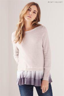 Neutral Mint Velvet Ombré Layered Knit