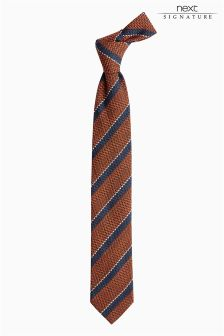 Signature Striped Tie