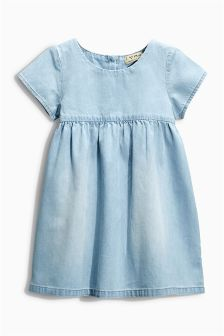 Light Wash Denim Dress (3mths-6yrs)