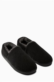 Memory Foam Closed Back Slipper