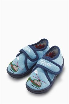 Helicopter Slippers (Younger Boys)