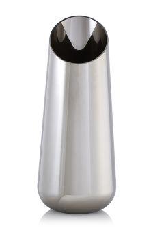 Angled Glass Vase