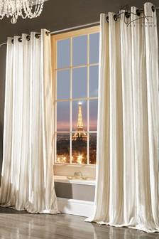 Kylie Astor Iliana Oyster Curtains