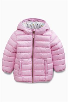 Lilac Padded Jacket (3-6yrs)