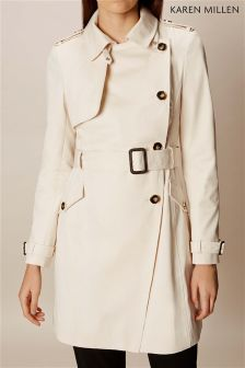 Karen Millen Neutral Spring Mac