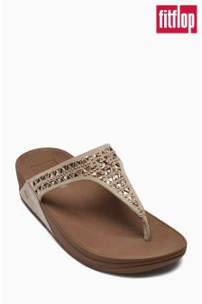 Rose Gold fitflop™ Toe Post Sandal