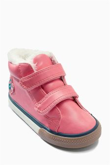 Pink Hi Tops (Younger Girls)