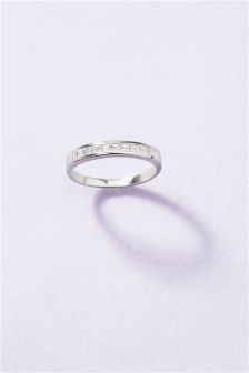 Sterling Silver Eternity Style Ring