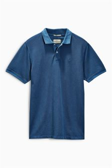 Regular Fit Garment Dyed Polo