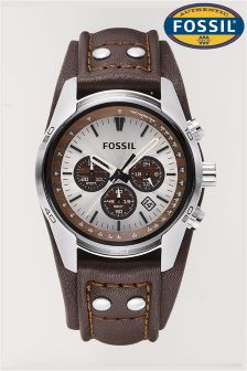 Brown Fossil™ Coachman Watch
