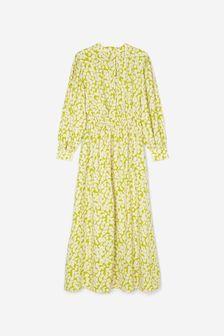Grey Herringbone Flat Cap