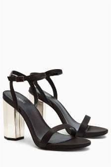 Feature Heel Glam Sandals