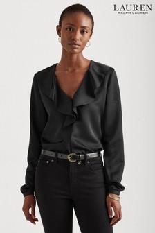 Black Bead Pattern Clutch Bag