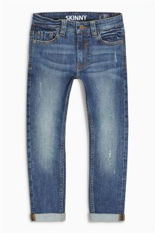 Skinny Distress Jeans (3-16yrs)