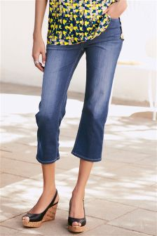 Couture Cropped Flare Jeans