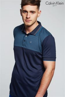 Calvin Klein Golf Navy Chief Poloshirt