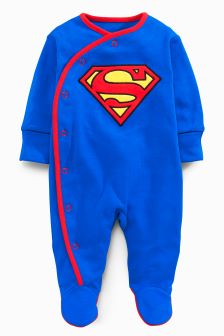 Superman® Sleepsuit (0-18mths)