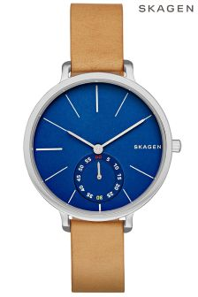 Skagen® Hagan Ladies Leather Watch