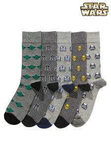 Star Wars™ Character Socks Five Pack