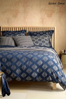 The Secret Linen Store Pinecones Duvet Cover