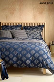 Secret Linen Store Pinecones Duvet Cover