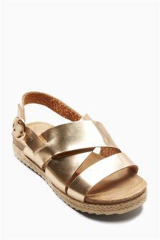 Rope Wrap Sandals (Older Girls)