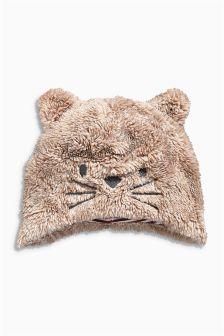 Fleece Cat Hat (0-18mths)
