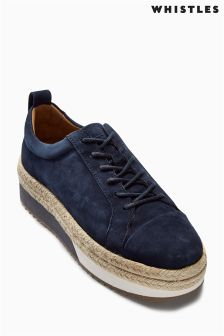 Whistle Suede Melby Espadrille Sneaker