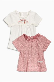 T-Shirts Two Pack (3mths-6yrs)