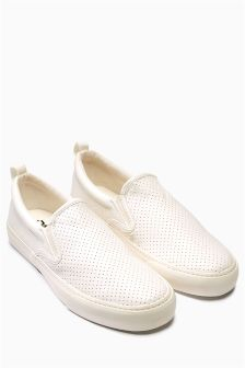Perforated Slip-On