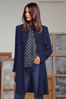 French Connection Rikki Crepe Coat