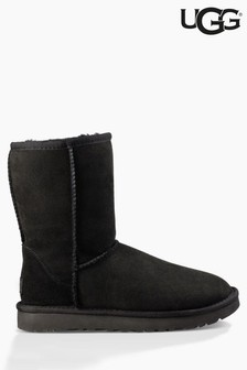 Black Ugg Classic Short Boot