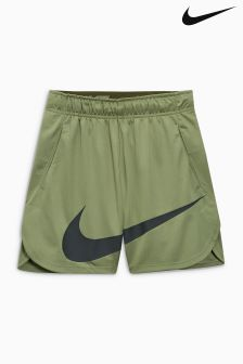 Nike Khaki Swoosh Training Short