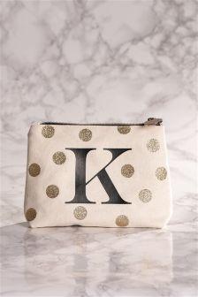 Alphabet Make-Up Bag