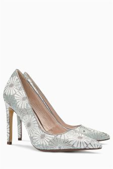 Brocade Point Court Shoes