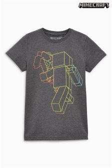 Minecraft Linear T-Shirt (4-14yrs)