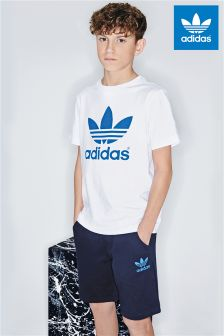 adidas Originals Navy Fleece Short