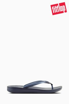 FitFlop™ Midnight Navy iQushion Ergonomic Flip Flop