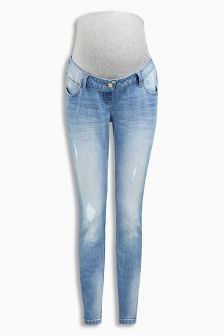 Over The Bump Skinny Jeans