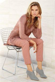 Textured Sparkle Sweater