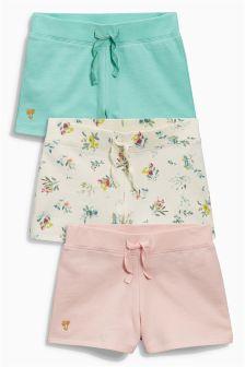 Shorts Three Pack (3-16yrs)