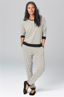 Grey Stripe Pyjamas