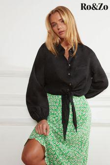 Nkuku Antique Brass Obi Lantern